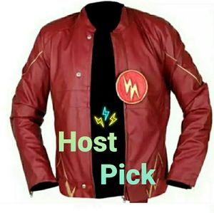 HP New ⚡TheFlash⚡Moto Soft Real Leather Jacket
